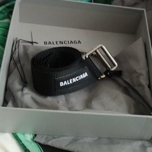 balenciaga military belt